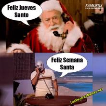 Famosos Express Las Mejores Imagenes De Famosos Curiosas Y Amor Feliz Jueves Chiste Meme Semana Santa