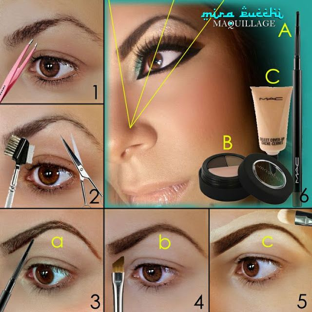 Tutorial: How to Fill in Your Eyebrows | Perfect eyebrow ...