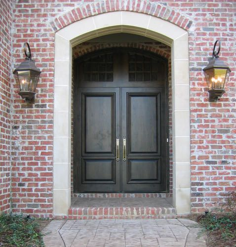 Doors by decora country french exteriuor wood entry door for Country front doors