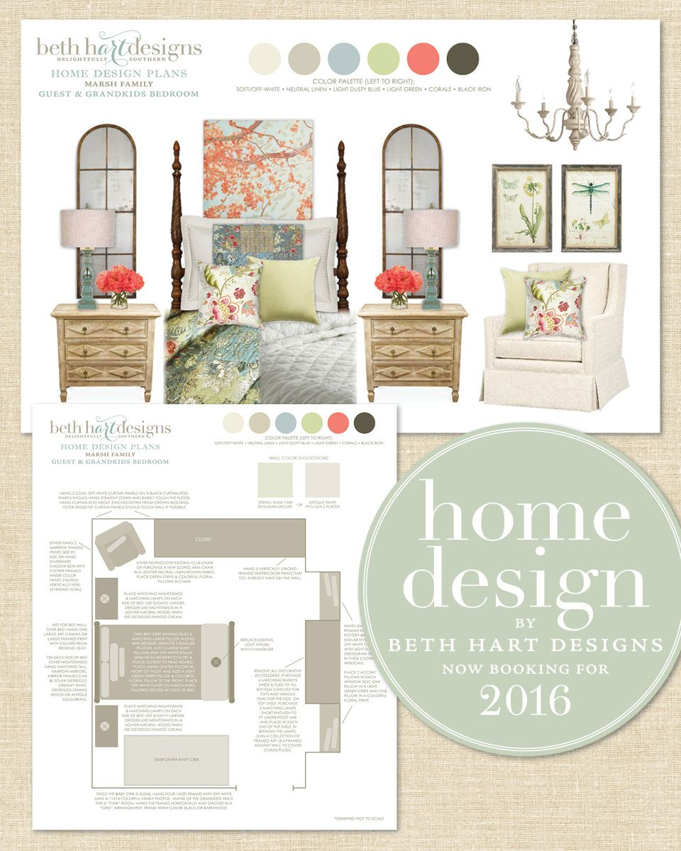 Home Design Plans Services By Beth Hart Designs E For Interiors