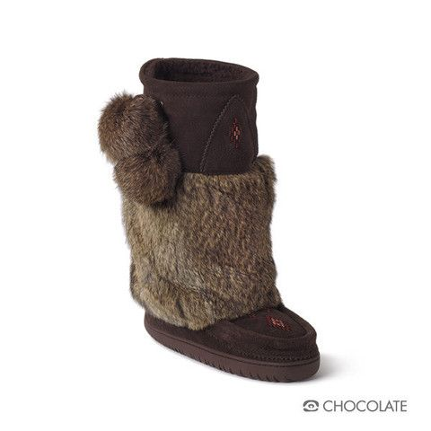 Mukluk -Chocolate think I need a new pair