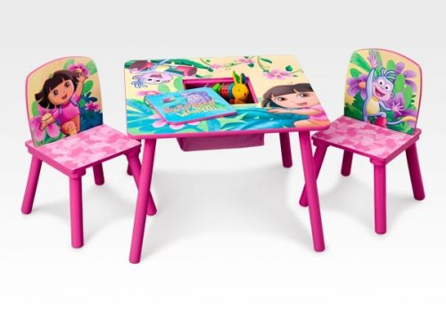 Delta Children\'s Products - Dora Table and Chair Set | Fun stuff ...