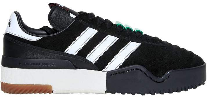 adidas AW BBALL SOCCER SUEDE BOOST SNEAKERS