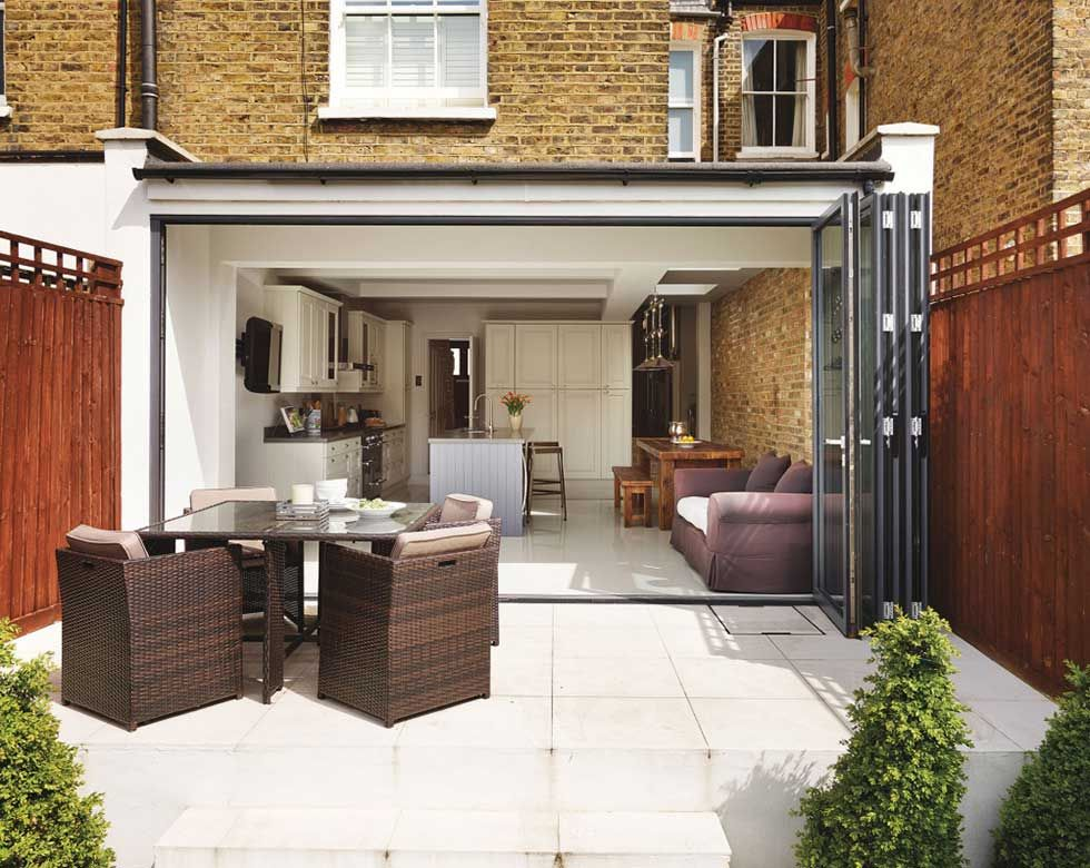 Contemporary Modern Rear Extension To A Victorian House Flat Roof Extension Kitchen Extension Kitchen Diner Extension