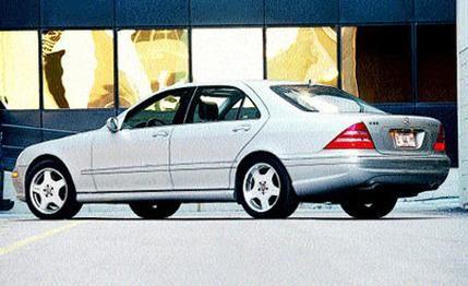 Tested 2001 Mercedes Benz S55 Amg Benz Mercedes Mercedes Benz