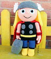 Ravelry: Thor Buddy - Kid modèle de Hero par Mary Smith