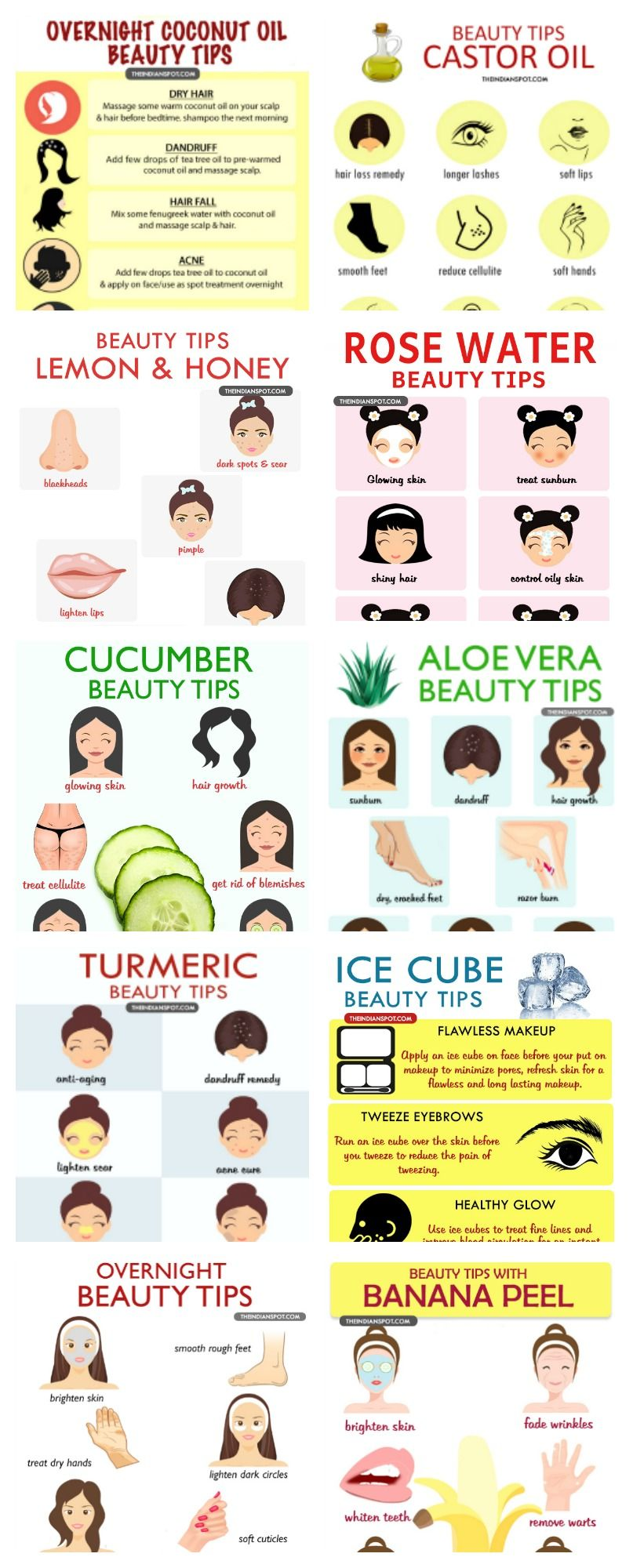 AMAZING ALL NATURAL BEAUTY TIPS  Overnight beauty, Natural beauty