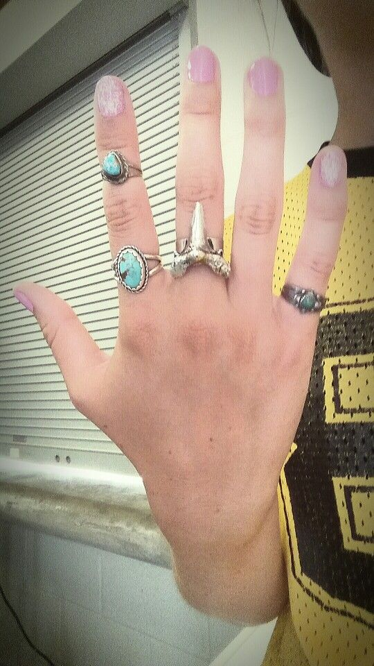 Turquoise//Shark RINGCANDY