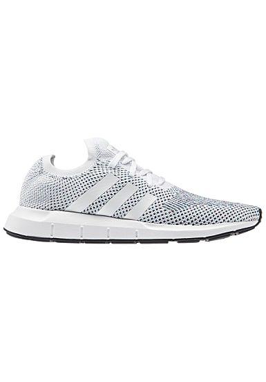 2a93e3cfe5bb17 adidas Swift Run Primeknit - Sneaker - Weiß