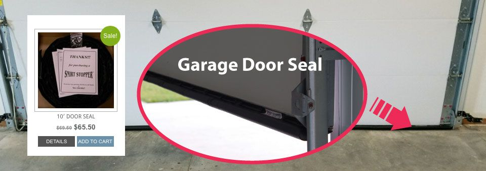 A Garage Door Seal Gap Seal And Threshold Seal That Mounts To The Inside Face Of The Door Instead Of The Bottom Which Is Energy Saving Garage Doors Door Seals Ultimate