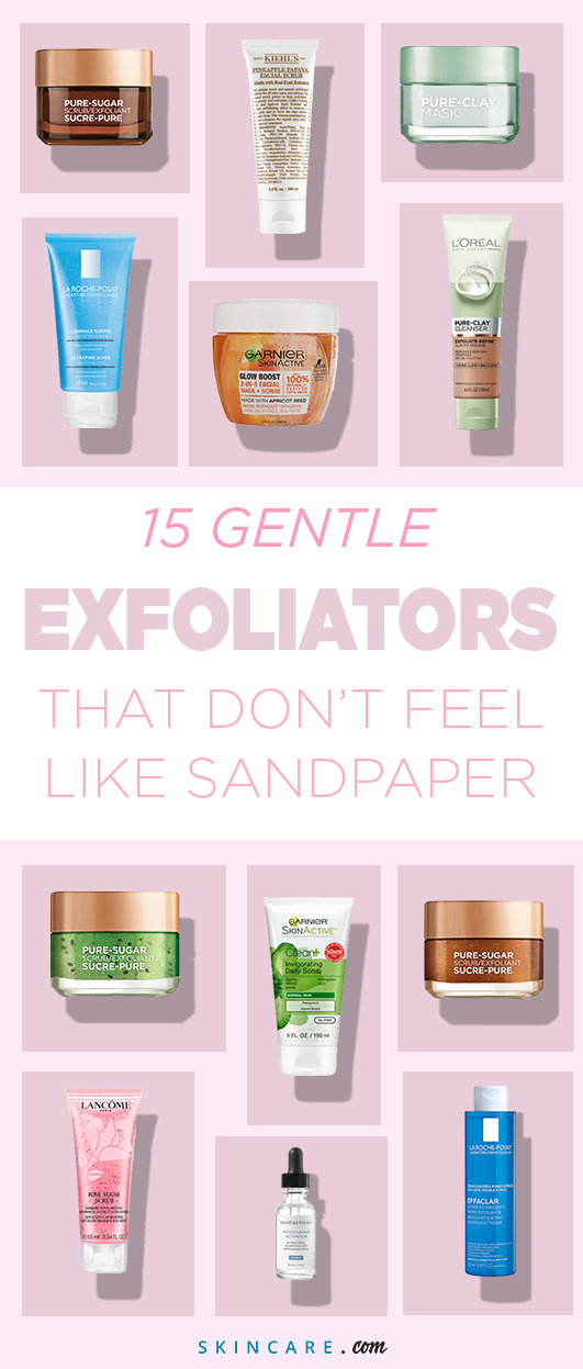 The Best Gentle Face Scrubs For All Skin Types Skincare Com By L Oreal Dry Skin Types Gentle Face Scrub Best Exfoliators