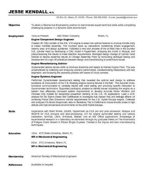 Resume Template - Google+ Steve Pinterest - objective for engineering resume