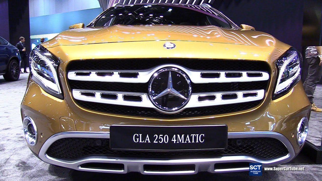 2018 Mercedes Benz Gla Class Gla 250 4matic Exterior Interior