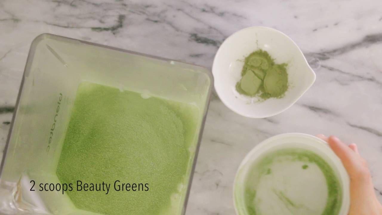 How to Make a Greens Matcha Iced Latte Iced matcha latte