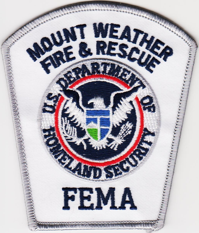 Us Fema Mt Weather Station Fire Department Patch Fire Service Patches Fire Department