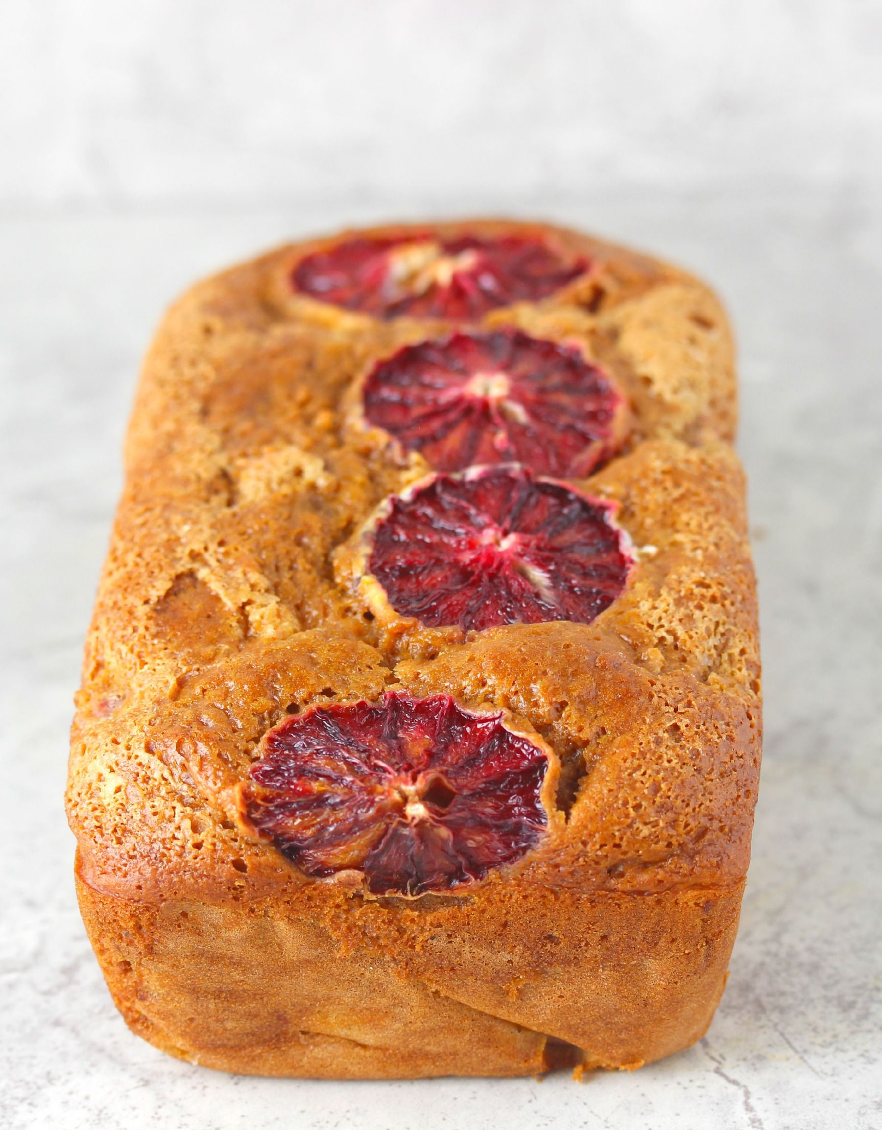 I love a good cake bread! This version has blood oranges and coconut oil.