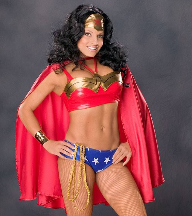 Wwe Trish Stratus As Wonder Woman  Sexy Divas And -7702