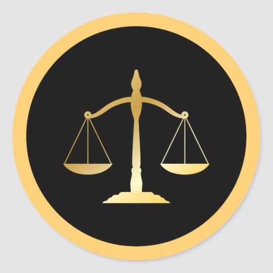 Libra Zodiac Law Justice Lawyer Scales Symbol Classic Round Sticker Zazzle Com Law And Justice Astrology Zodiac Libra Zodiac
