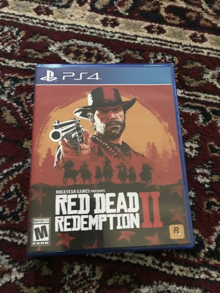 Red Dead Redemption 2 Ps4 Mint Condition W Map 100 Perfect Seller Rating Red Dead Redemption Mint Condition Redemption
