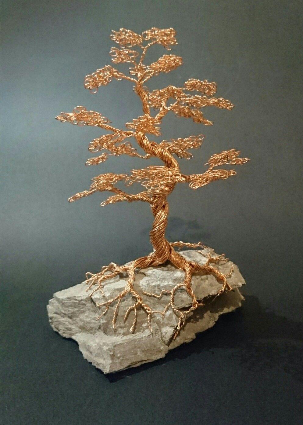 Copper Bonsai Wire Sculpture Art Pinterest Trees Wiring A