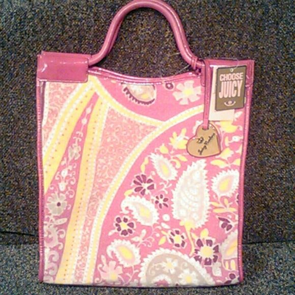 Juicy Couture new with tags hip event Gia tote Beautiful new with tag hip event Gia bag Juicy Couture Bags Totes