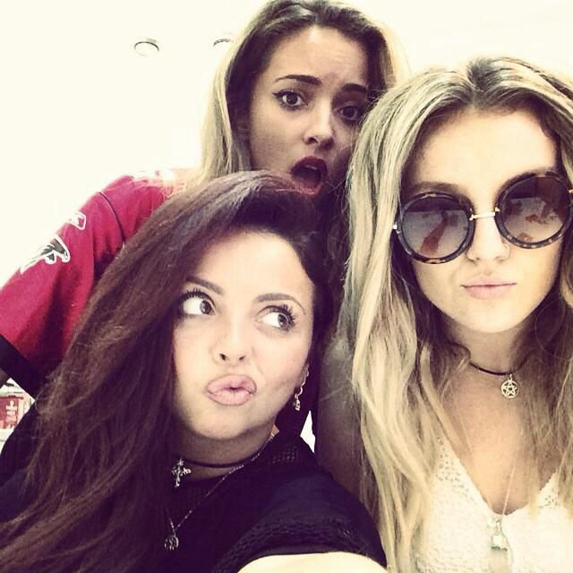 Jesy Nelson Jade Thirlwall And Perrie Edwards Little Mix Girls