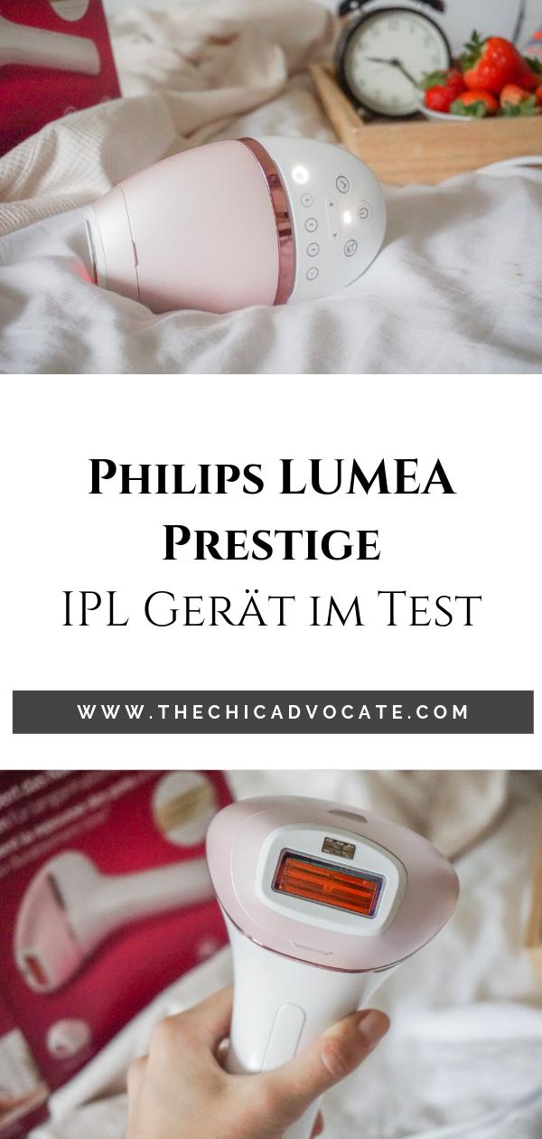 Testbericht Und Anwendungstipps Zum Philips Lumea Prestige Ipl Haarentfernung Haarentfernung Tipps