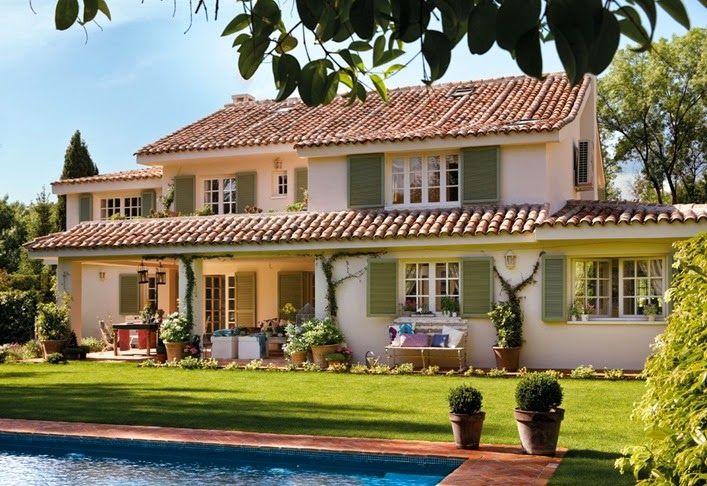Una villa da sogno in spagna blogs decorazione home for Case bellissime esterni
