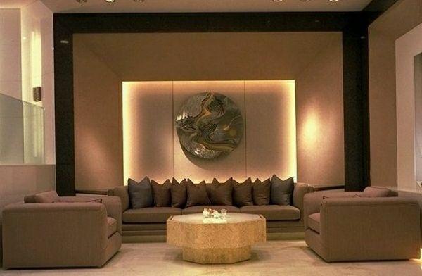 feng shui bagua bereichen idee erde wohnzimmer kissen | Living ...
