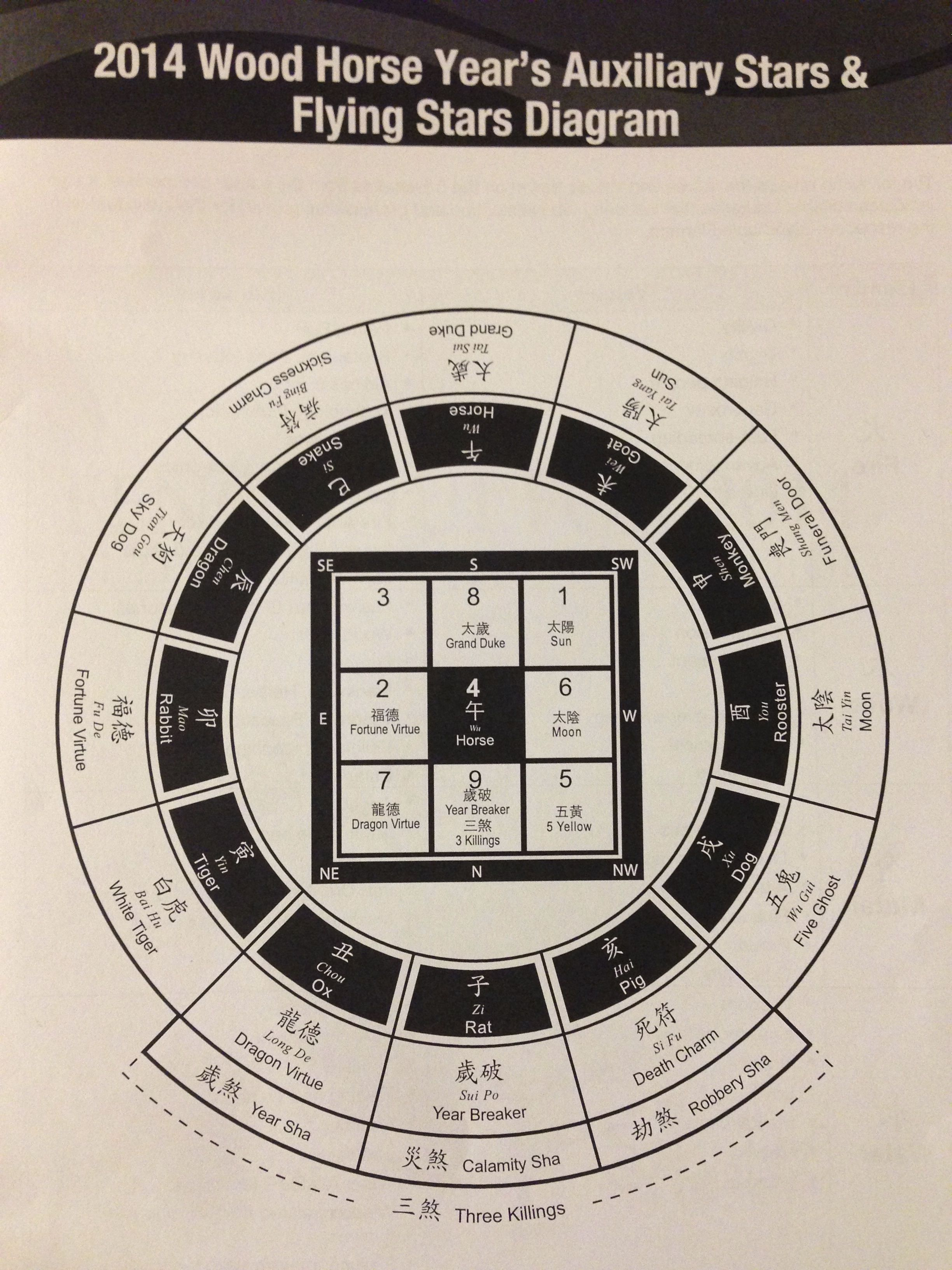 The annual feng shui chart for 2014 wood horse year this is a the annual feng shui chart for 2014 wood horse year this is a pictogram of pooptronica
