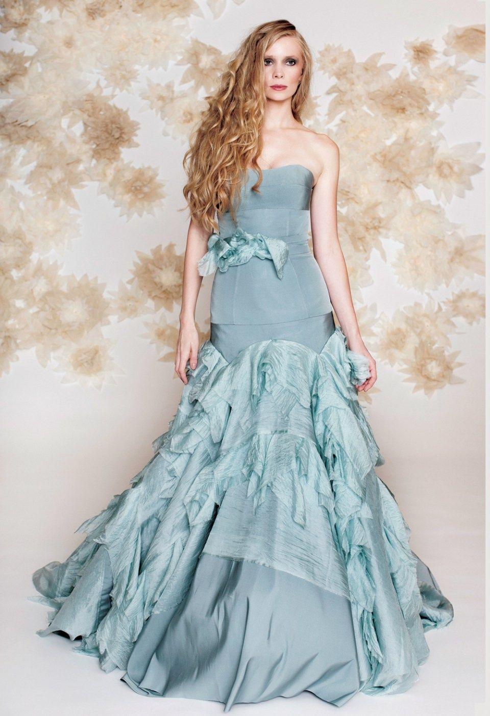 More blue wedding gowns that will have you rethinking traditional