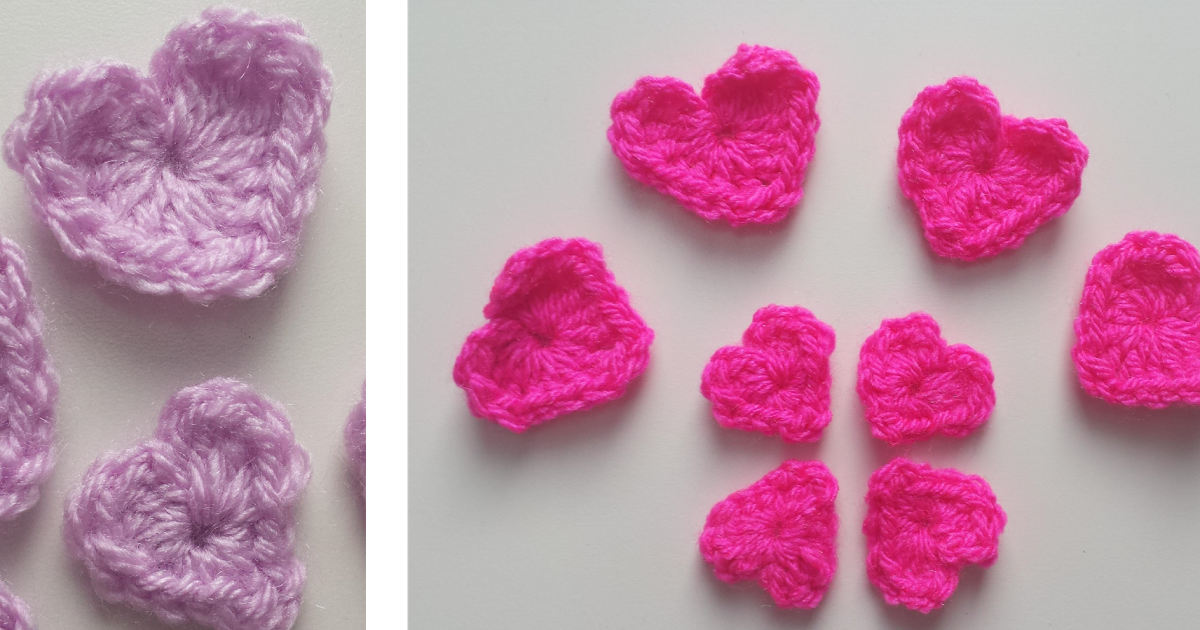 FREE Heart Applique Pattern (Crochet) - intheloopcrafts.blogspot.co ...