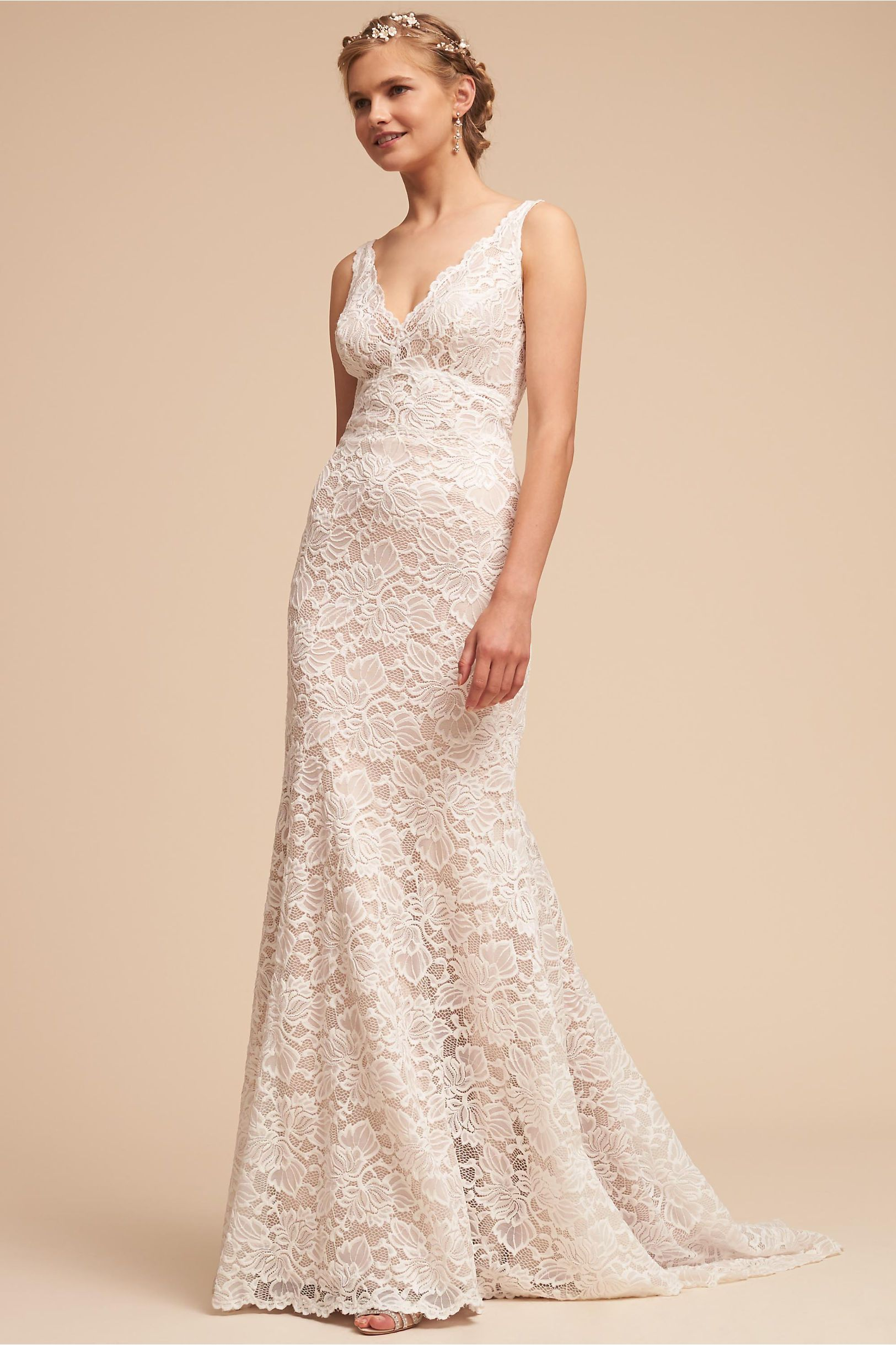 311191915c BHLDN s Eddy K Tempo Gown in Ivory