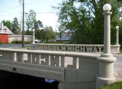 Lincoln Highway Bridge At Tama Ne Lincoln Highway Interstate