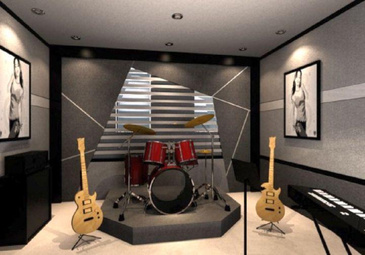 20 Cozy Music Room Designs That Redefine Styles Home Music Rooms Music Room Design Music Studio Room