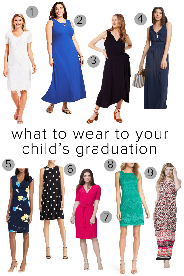 What To Wear To Your Child S Graduation Graduation Outfits For Mothers Graduation Party Outfits Graduation Outfit [ 1152 x 768 Pixel ]