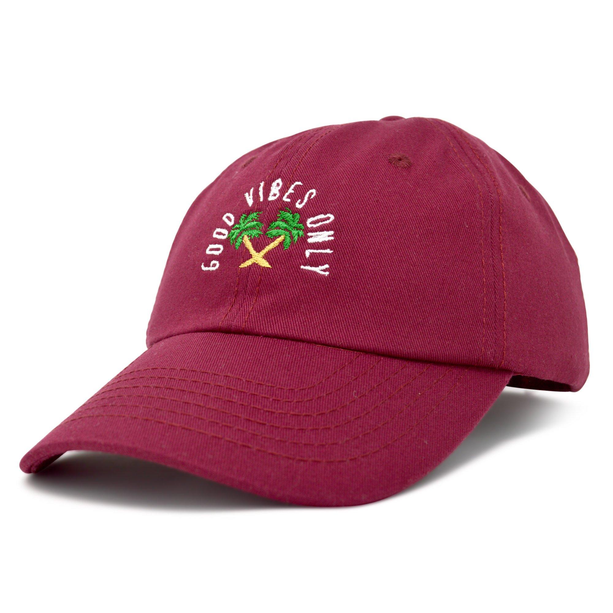 80953c9003ee1 Good Vibes Baseball Cap Dad Hat Womens Mens Hats   Products   Hats ...