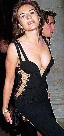 Black Versace Dress Of Elizabeth Hurley Wikipedia The Free Encyclopedia Elizabeth Hurley Versace Dress Hurley Dress