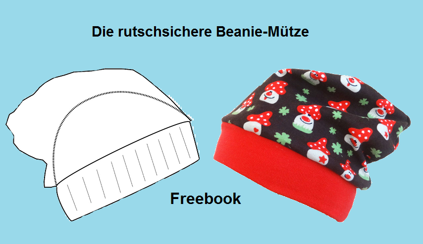 Nuckelbox: Tutorial - Die rutschsichere Beanie-Mütze - Freebo ...
