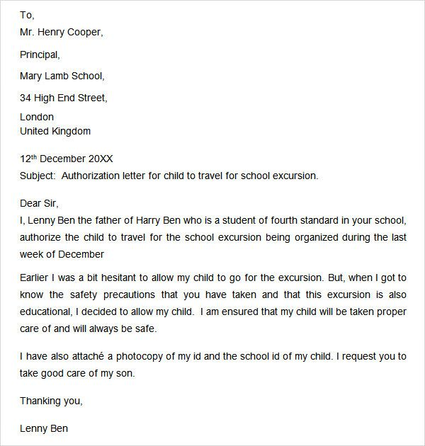 Authorization letter free doc download sample consent for children authorization letter free doc download sample consent for children travelling abroad with one parent thecheapjerseys Choice Image