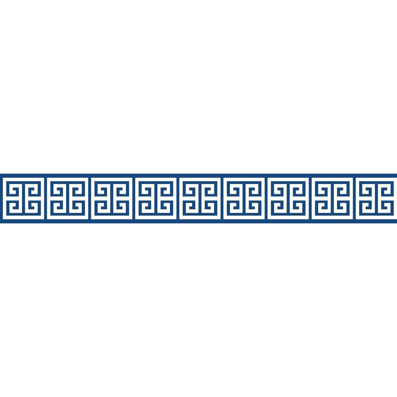 Border Portfolio Ii Meander 15 X 4 5 Geometric Border Wallpaper