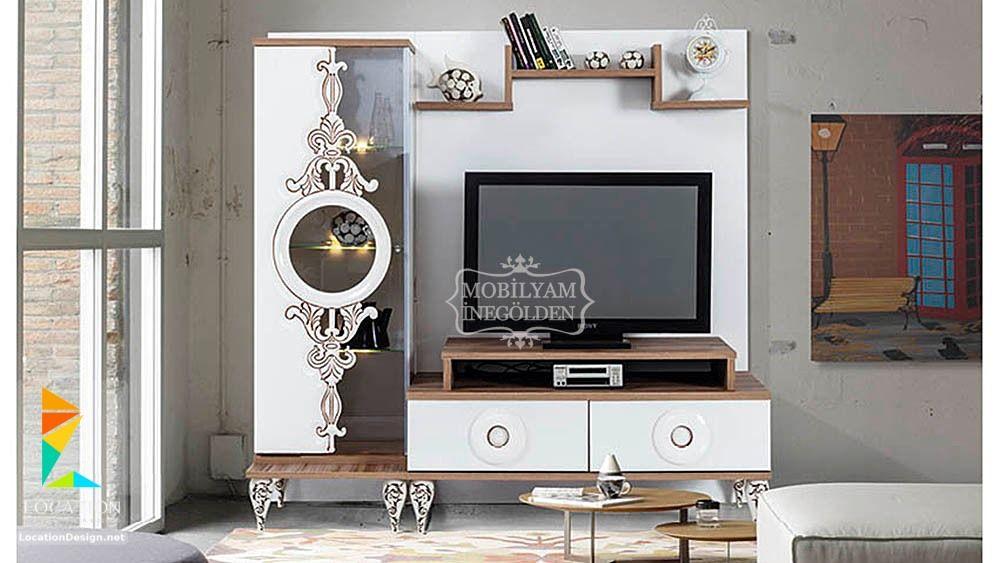 احدث اشكال مكاتب شاشات بلازما Tv Stand Flat Screen Flatscreen Tv