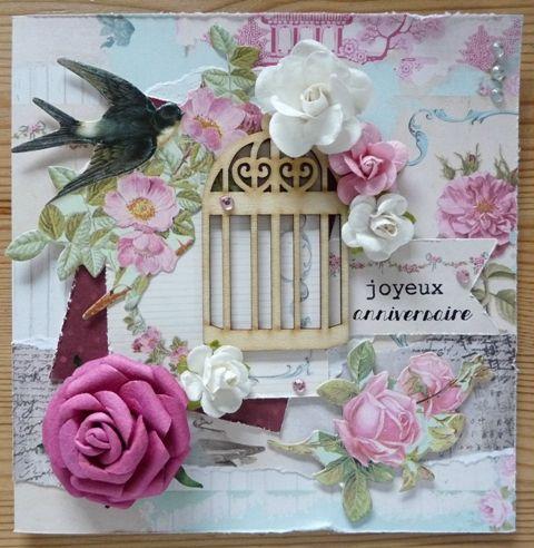 cartes et des bijoux Charmes anniversaire pour le scrapbooking 7 charmes et des citations