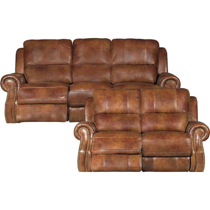 Outstanding Brown Leather Match Manual Reclining Living Room Set Ibusinesslaw Wood Chair Design Ideas Ibusinesslaworg