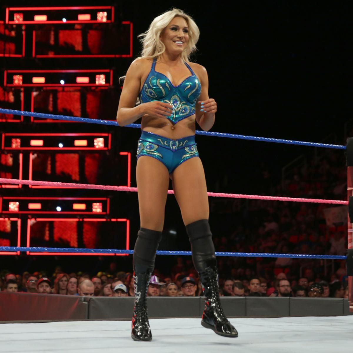 hell in a cell 2017: natalya vs. charlotte flair - smackdown women's
