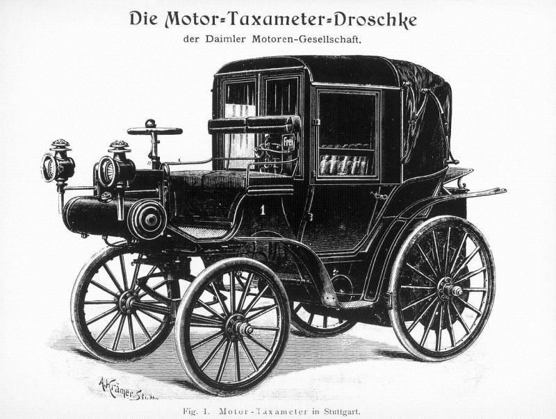1895-1899 Daimler Motor-Kutsche..jpg; 800 x 603 (@96%)   Carros ...