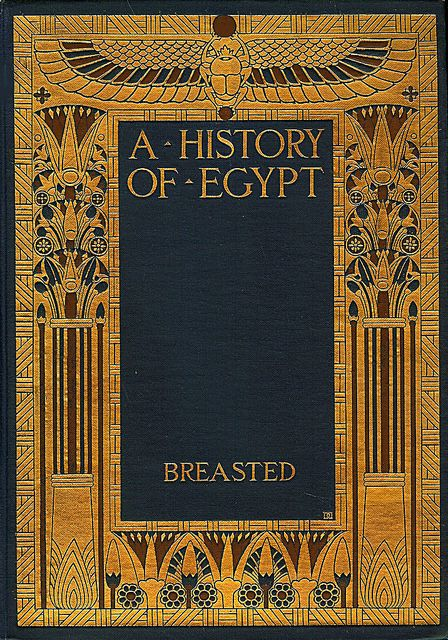 DD--Breasted--History of Egypt | Vintage book covers ...