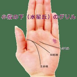 Photo of 【手相紋占い1】手のひらに網目のようなグリル(格子紋)がある手相