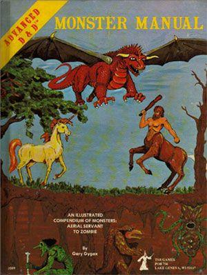 dungeons dragons 1st edition monster manual part 1 dungeons rh pinterest com monster manual 1e pdf monster manual 1st pdf