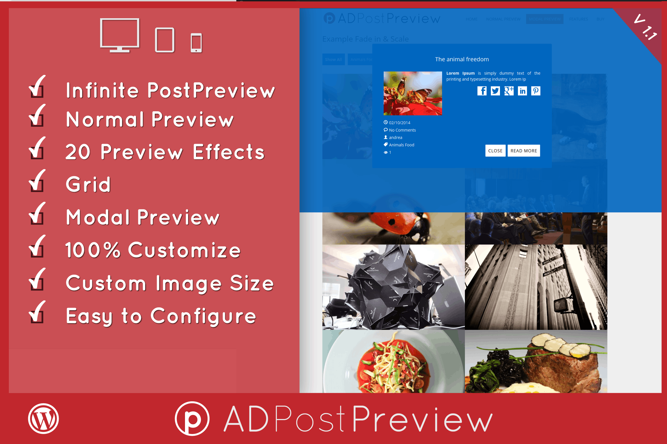 AD Post Preview Wordpress Plugin #gallery, #gallery